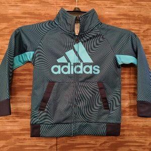 Adidas Boys track jacket size 3T